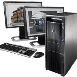 کیس اچ پی ورک استیشن HP Z600 استوک