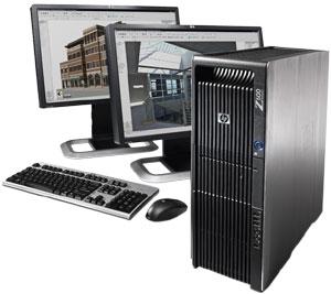 c01709722 - کیس اچ پی ورک استیشن HP Z600 کانفیگ A