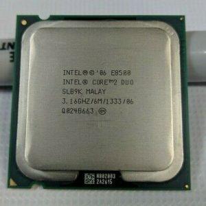پردازنده دو هسته ای Core 2 Due E8500استوک
