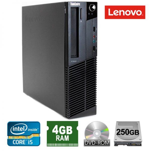lenovo thinkcentre core i5 4gb ram 250gb hdd 600x600 - کیس لنوو Core i5 نسل 2استوک