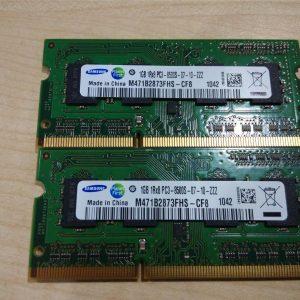 رم استوک لپ تاپی ۲ گیگ ۲GB DDR3 PC3استوک