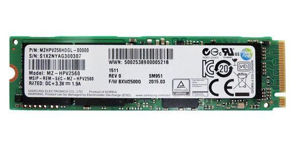 samsung sm951 256gb m 2 pcie ssd 1500mb s mzhpv256hdgl hexarootsolution 1803 16 hexarootsolution@27 600x300 - هارد سامسونگ Samsung SSD M2 256GB