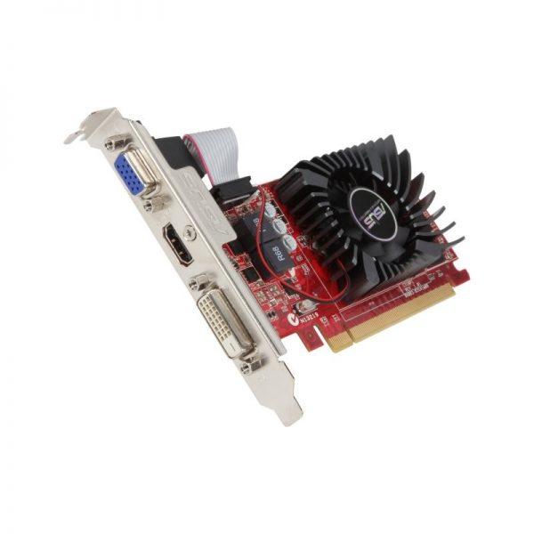 asus radeon r7 240 4gb ddr3 graphics card 2gb 128 bit ddr3 core clock 780mhz 1 x sl dvi d 1 x hdmi 320 stream processors pci exp 600x600 - کارت گرافیک استوک 2 گیگ Radeon 6450 2G