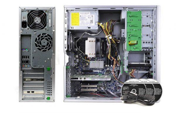 behind side hpz400 600x388 - کیس ورک استیشن اچ پی HP Z400 اقتصادی Cاستوک