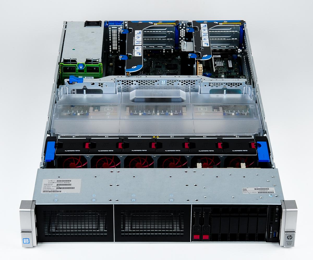 سرور اچ پی hp dl560 g9