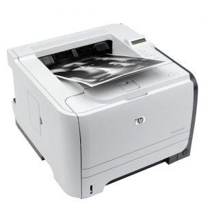 پرینتر استوک لیزری سیاه و سفید HP 2055dnاستوک