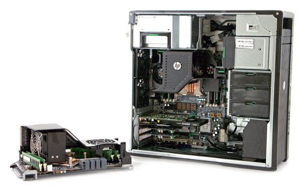 StorageReview HP Z620 Workstation 2nd CPU 600x369 - کیس ورک استیشن اچ پی HP Workstation Z620 (کانفیگ B)