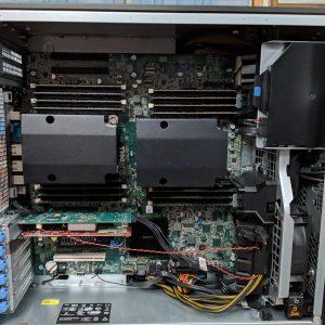 کیس ورک استیشن دل پرسیشن Dell Precision T7600 Workstationاستوک