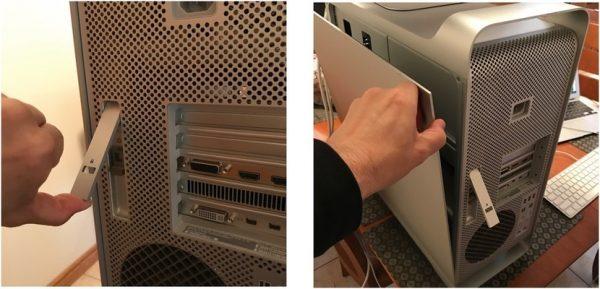 unlock open mac pro 600x289 - کیس ورک استیشن اپل Apple Mac Workstation Pro 4.1