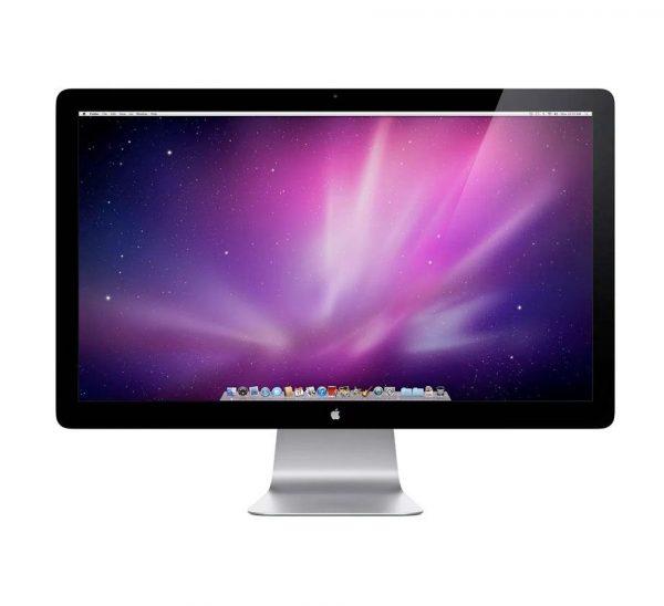 apple cinema display 24 inch 600x548 - مانیتور اپل Apple Cinema Display 24 A1267استوک
