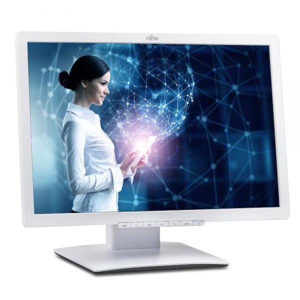 fujitsu display b22w 7 led 1 600x600 - مانیتور 22 اینچ فوجیتسو Fujitsu E22t-7 استوک