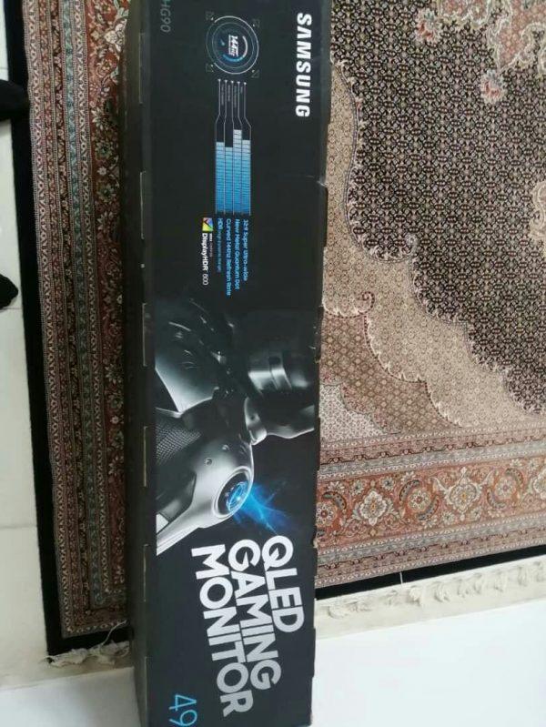 مانیتور خمیده ۴۹ اینچ گیمینگ سامسونگ Samsung مدل LC49HG90 اکبند