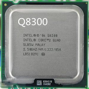 پردازنده مرکزی Intel® Core™2 Quad Processor Q8300