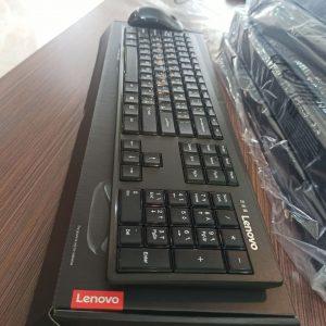 کیبرد و موس وایرلس لنوو  Lenovo 100 wireless Combo Keyboard & Mouse اکبند