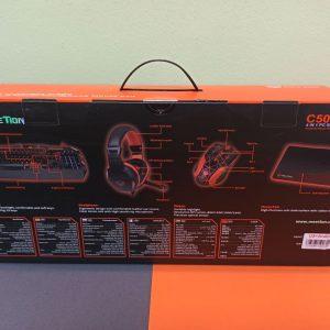 کیبرد و موس گیمینگ میشن MeeTion C500 آکبند