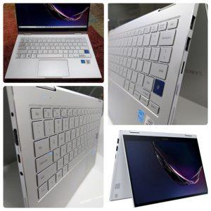 لپتاپ گلکسی بوک سامسونگ Samsung Galaxy Book 730QCJ اپن باکس