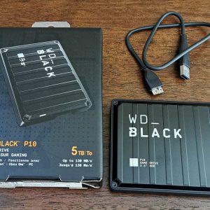 هارد ۵ ترابایت وسترن دیجیتال WD Black P10 5TB Game Drive استوک
