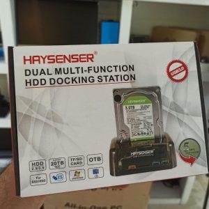 باکس چند منظوره هارد HDD Docking station Haysenser آکبند